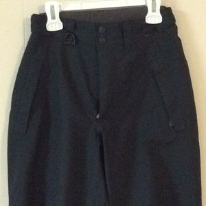 MEC Rain Pants Lined Adjust Waist CAMP Sz 10-12 Y